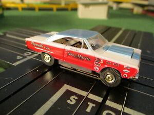 NMINT Model Motoring Sox & Martin Aurora T Jet Chassis Race Track Set Slot Car