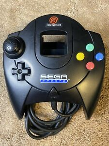 Authentic Official OEM Sega Dreamcast DC Wired Controller Sega Sports Black