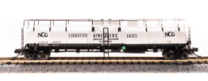 Broadway N Scale Cryogenic Tank NCG  UTLX 80018 Bob The Train Guy