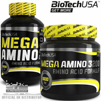 BioTech USA MEGA AMINO 3200 100 300 Tablets Amino Acid Formula