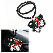 1PC JDM Shark Missile Rearview Mirror Hanging Charm Dangling Pendant Ornament