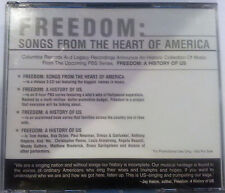 Freedom: Songs from the Heart of America  (CD, Dec-2002, 3 Discs Promo  A435