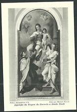 postal antigua de San Simon Stock andachtsbild santino holy card santini