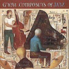 DAVID BENOIT - (Bissonnette - Bromberg) Great Composers of Jazz (2001) CD