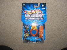 Hot Wheels Light Speeders Invader Orange with Blue Stencil Included