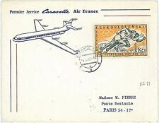OLYMPICS: FIRST FLIGHTS : COVER - CZECHOSLOVAKIA 1960