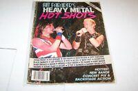 fall/1984 HIT PARADER music magazine HOT SHOTS