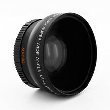 Wide Angle Lens + Macro part for Pentax K2000 K-m K-x K20D K200D Kx K7 Kr camera