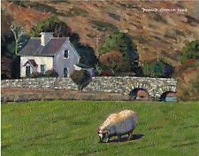 COLOR PRINT OF OIL PAINTING, IRELAND SERIES #8