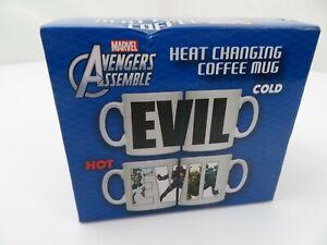Marvel Avengers Heat Changing Coffee Mug Evil New