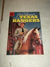 Dell JACE PEARSON'S TALES OF THE TEXAS RANGERS #16 June/August 1957 HIGH GRADE