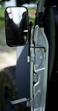 JustAddMud Jeep JK Door Hinge Mirrors & Foot Pegs Package! (2007-2016)