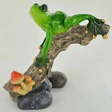 More details for forest frogs figurine frog ornament unusual statues animal toad garden outdoor