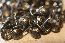 Lot de 250 Clous Décoratifs Tapissier Bronze Vieilli 11mm Fauteuils Chaises