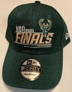 Milwaukee Bucks 2021 NBA Finals Polo Cap - Bucks Championship Hat