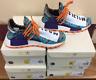 Adidas HU NMD Pharrell Human Race Solar Pack Orange Purple BB9528 AUTHENTIC