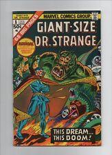 Giant-Size Dr Strange #1 - Huge Monster Cover - (Grade 6.5) 1975