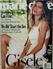 Marie Claire April 2020 Gisele Changemakers Issue Clean Beauty FREE SHIPPING CB