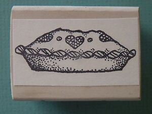 Whole Baked Pie Rubber Stamp