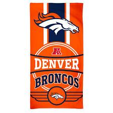 Nfl Bath Towel Denver Broncos Logo Beach Towel 59 1/8x29 1/2in 099606284402