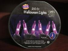 NEW!  210 ct Purple Halloween String Lights - 42ft (purple)
