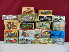 Lot of 18 Avon Car & Train Boat Cable Car With Boxes