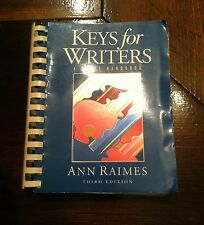 Key's For Writers - A Brief Handbook, Third Edition (Grammar)