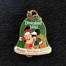 Disney Pin Happy Holidays 2009 - Mickey Mouse  LE 1000 Disneyland Hotel