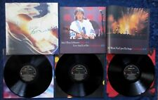 PAUL McCARTNEY - Tripping The Live Fantastic 1990 3 x LPs w/ booklet Shrink NM