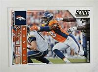 2017 Score Sack Attack #14 Von Miller - NM-MT