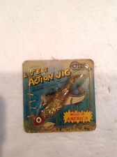 COTEE LIV'EYE ACTION JIG VINTAGE FISHING LURE NIP NOS NO RESERVE