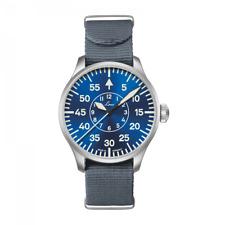 Laco ✫ Aachen 42 Blaue Stunde ✫ Flieger Type-B Automatic Pilot Watch 862101