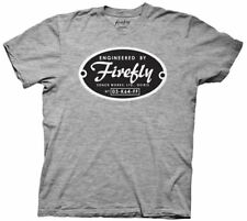 Firefly / Serenity Engineered By Firefly Coach Works Logo T-Shirt, New Unworn