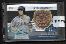 2017 Topps All Star Medallion AUTOGRAPH MLBASA-BP Buster Posey SP! 01/10