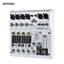 ammoon  8 Channel Sound Card Digital Audio Mixer Mixing Console Free Ship U6M2
