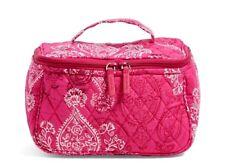 Vera Bradley ** STAMPED PAISLEY** Travel Cosmetic Makeup Bag NWT