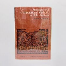 Statistical and Computational Methods In Data Analysis; S. Brandt; 1st Ed 1970