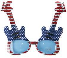 GUITAR FRAME ROCK N ROLL FUNNY PARTY GLASSES
