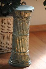 Säule Ablage Blumensäule  Säulen Skulptur Figur  Bambus Muster 1052-62