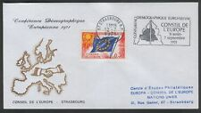FRANCE CONSEIL DE L'EUROPE  EUROPEAN DEMOGRAPHIC CONFERENCE FDC  STRASBOURG 1971
