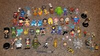 Mixed Lot of 50 Mini Figures & Key Chains Funko Mystery Star Wars Street Fighter