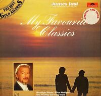 JAMES LAST my favourite classics 2437 980 uk polydor 1983 LP PS EX/EX-