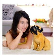 cute Plush dog toy simulaiton Squating saks dog lovely stuff doll gift 35cm