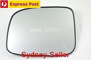 LEFT PASSENGER SIDE HOLDEN COLORADO 2008-2012 MIRROR GLASS WITH BACK PLATE