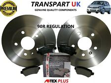 FOR VAUXHALL ASTRA H REAR BRAKE DISCS AND PADS DIESEL AND PETROL PREMIUM QUALITY