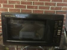 Sharp R930AK 1.5 cu. ft. 900W Convection Microwave in Black Made May 2014
