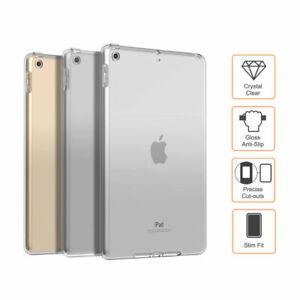 Slim Soft Rubber Gel Silicone Back Case Cover For SamSung & Apple Tablets Models