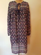 Tree of Life Dress Free Size Boho Gypsy Festival Indian Cotton S M L