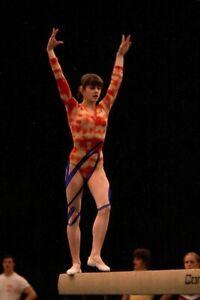 Nadia Comaneci Signed 6x4 Photo Olympic Gymnast Gold Medallist Autograph + COA