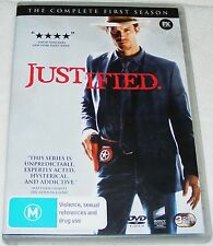 JUSTIFIED--Season One---(Dvd Three Disc Set)